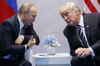 Trump s Putinom.