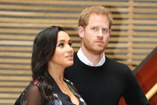 Princ Harry a vojvodkyňa Meghan.