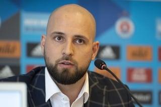 Na snímke generálny riaditeľ a viceprezident klubu ŠK Slovan Bratislava Ivan Kmotrík ml.