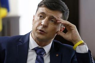 Favoritom je populárny komik Volodymyr Zelenskyj.