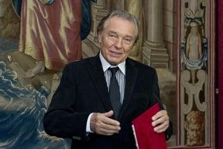 Karel Gott 28. októbra 2014 v bratislavskom Primaciálnom paláci.