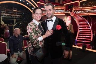 S manželkou Alenou tvorí herec harmonický pár.