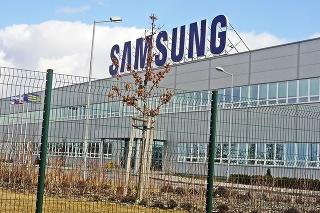 Samsung patrí k najvýznamnejším zamestnávateľom na Slovensku.