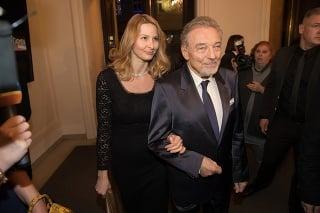 Maestro Gott s manželkou Ivanou.