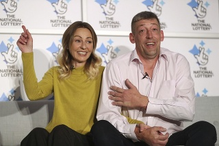 Steve Thomson a jeho slovenská manželka Lenka vyhrali rozprávkovú sumu.