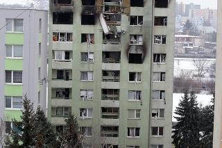 BEZ ŠANCE: Statici tvrdia, že bytovka už nebude obývateľná.
