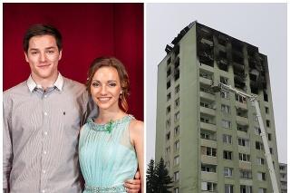 Hráč Tatrana Prešov Miloš s priateľkou Laurou prišli o všetko.