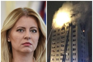 Prezidentka Zuzana Čaputová ponúkla rodinám postihnutým tragédiou pomocnú ruku.