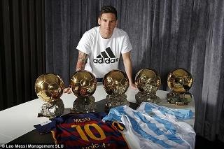 Do zbierky Argentínčana pribudne šiesta Zlatá lopta.