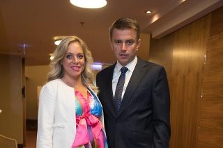 Braňo Záhradník s manželkou Dankou