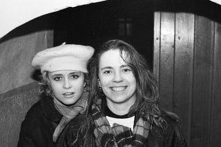 Zľava: Michaela Čobejová, Diana Mórová