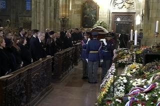 Pohreb Karla Gotta