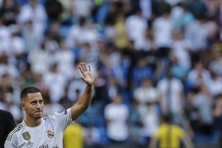 Nová posila Realu Madrid belgický futbalista Eden Hazard.