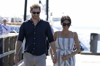 Princ Harry a vojvodkyňa Meghan počas návštevy Austrálie.