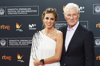 Richard Gere a Alejandra Silva