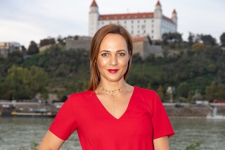 Moderátorka Adriana Poláková