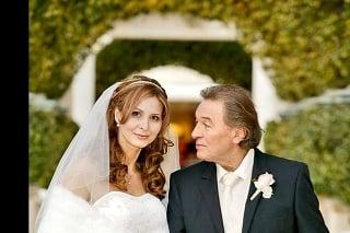 Ivana Macháčková a Karel Gott sa zosobášili začiatkom roka 2008 na dovolenke v Las Vegas.