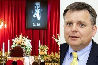 Lekár prehovoril na Gottovom pohrebe.