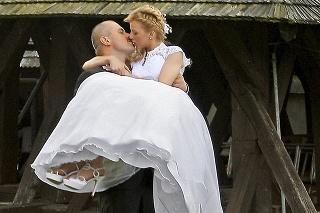 Svadbu mali v júli 2014 v Čeríne pri Banskej Bystrici.