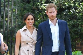 Princ Harry a vojvodkyňa Meghan na návšteve Juhoafrickej republiky.