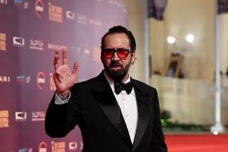 Americký herec Nicolas Cage (55).