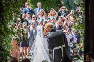 Harry a Meghan sa vzali 19. mája 2018 vo Windsore.