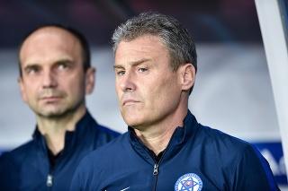 Reprezentačný tréner Pavel Hapal.