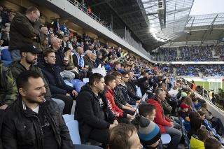 Nové Tehelné pole počas dlho očakávaného zápasu Slovan Bratislava - Spartak Trnava.