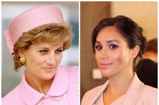 Pricezná Diana a vojvodkyňa Meghan