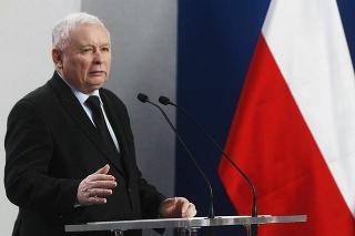Predseda konzervatívnej poľskej politickej strany Právo a Spravodlivosť Jaroslaw Kaczynski.