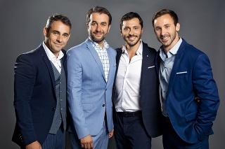 Štvorica hercov sa na nedostatok peňazí rozhodne sťažovať nemôže.