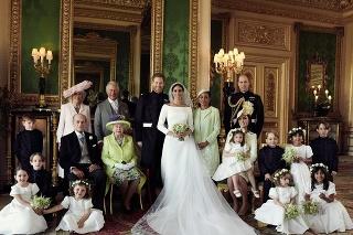 Oficiálne fotky zo svadby princa Harryho a Meghan Markle