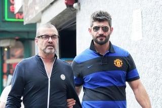 George Michael a jeho priateľ Fadi Fawaz.