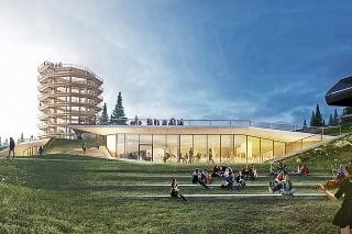 Jedinečná budova bude zakomponovaná do zeme.