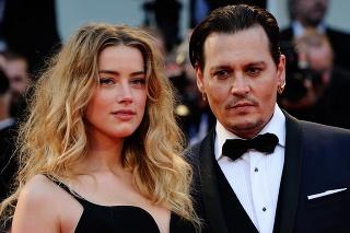Amber Heard a Johnny Depp