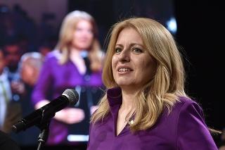 Budúca prezidentka Zuzana Čaputová.