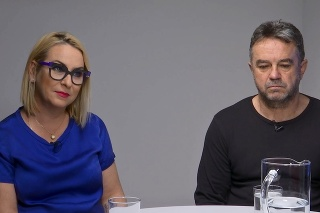 Wanda Adamík Hrycová a Jožo Pročko