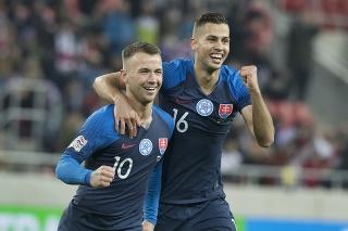 Slovensko - Ukrajina v Lige národov UEFA.