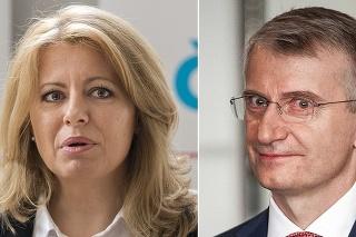Čaputová a Mistrík sa uchádzajú o prezidentské kreslo.