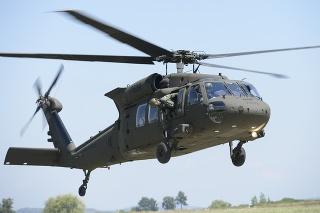 Ozbrojené sily SR majú stále k dispozícii aj viacúčelový vojenský vrtuľník Sikorski UH-60M Black Hawk.