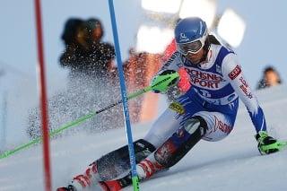 Na snímke slovenská reprezentantka Petra Vlhová v prvom kole v slalome žien Svetového pohára v alpskom lyžovaní vo fínskom Levi 17.