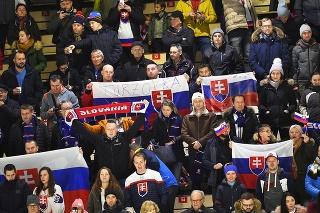 Slovenskí fanúšikovia  mali vstup zdarma nanáš tím.
