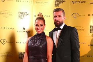 Dominika Cibulková s manželom.