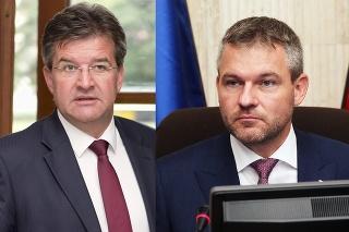 Miroslav Lajčák (55) a Peter Pellegrini (43).