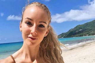 Urszula Radwanská si užíva dovolenku.