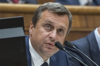 Predseda parlamentu Andrej Danko