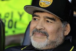 Maradona mal dôvod na úsmev.