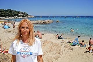 Daniela odporúča najmä pláže Pampelone, Gigaro a L' Escalet.