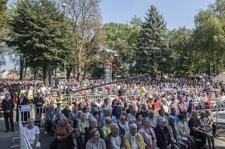Národná púť v Šaštíne prilákala tisícky veriacich.