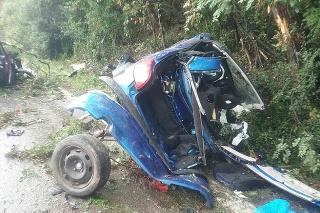 Pri zrážke dvoch osobných áut na ceste v okrese Turčianske Teplice zahynul Ľubomír († 57) z obce v okrese Prievidza.